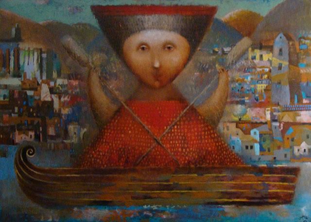 Персональная выставка Павла Николаева