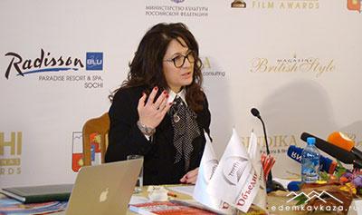 Любовь Балагова - основатель и президент SIFA