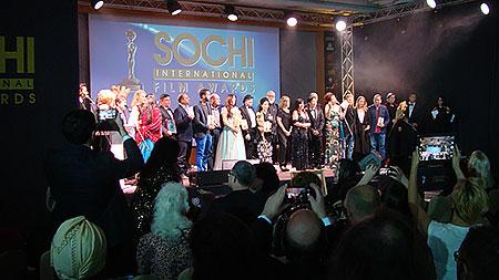 Sochi International Film Awards. Торжественное закрытие первого фестиваля