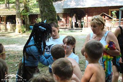 Подготовка к детскому празднику